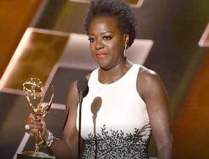 Viola Davis at 2015 Emmys