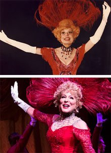 Carol Channing and Better Midler