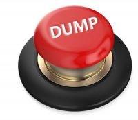 dump button